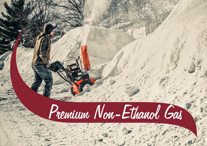 premium non-ethanol gas