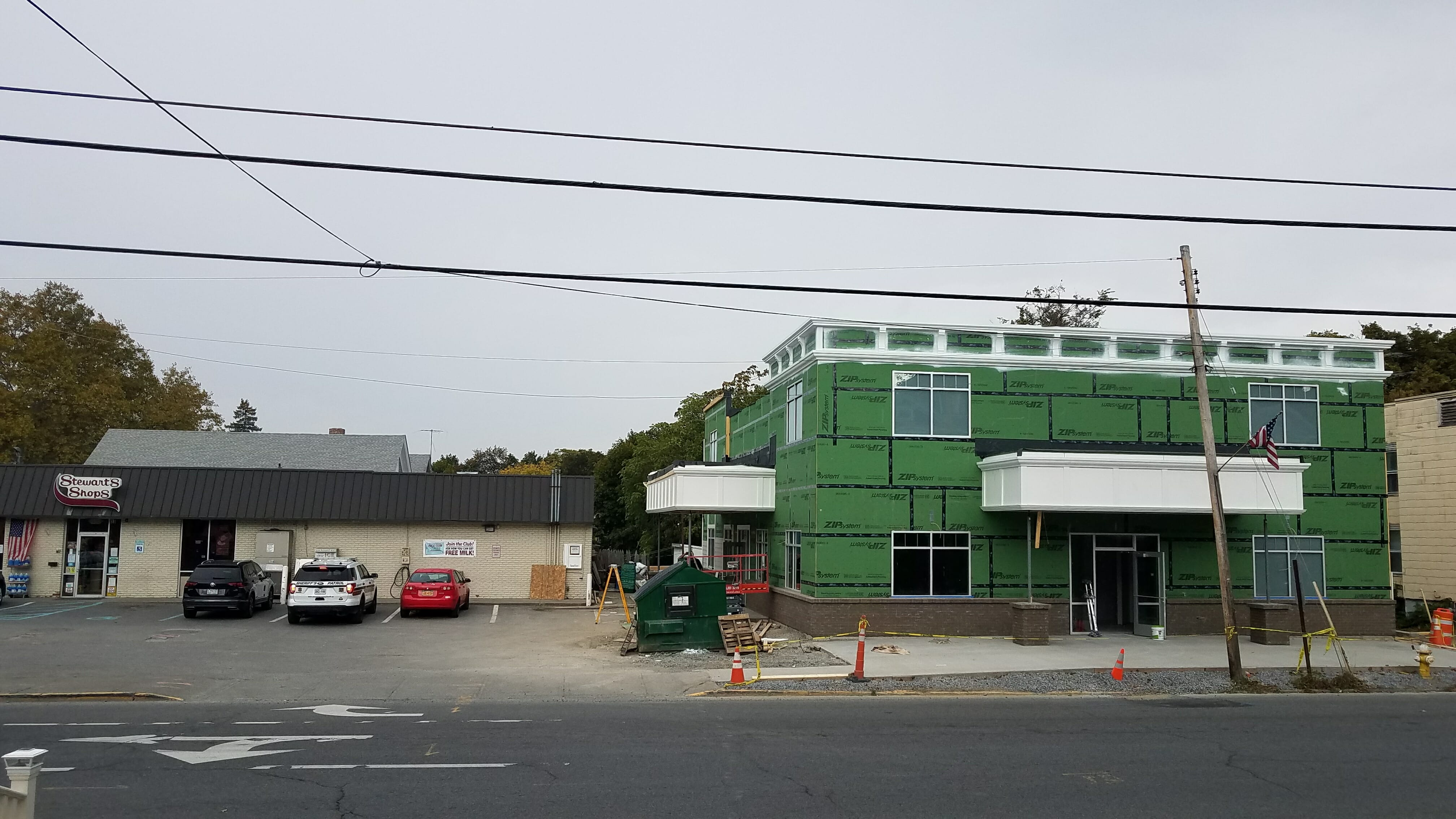 new Stewart's shop next to existing store