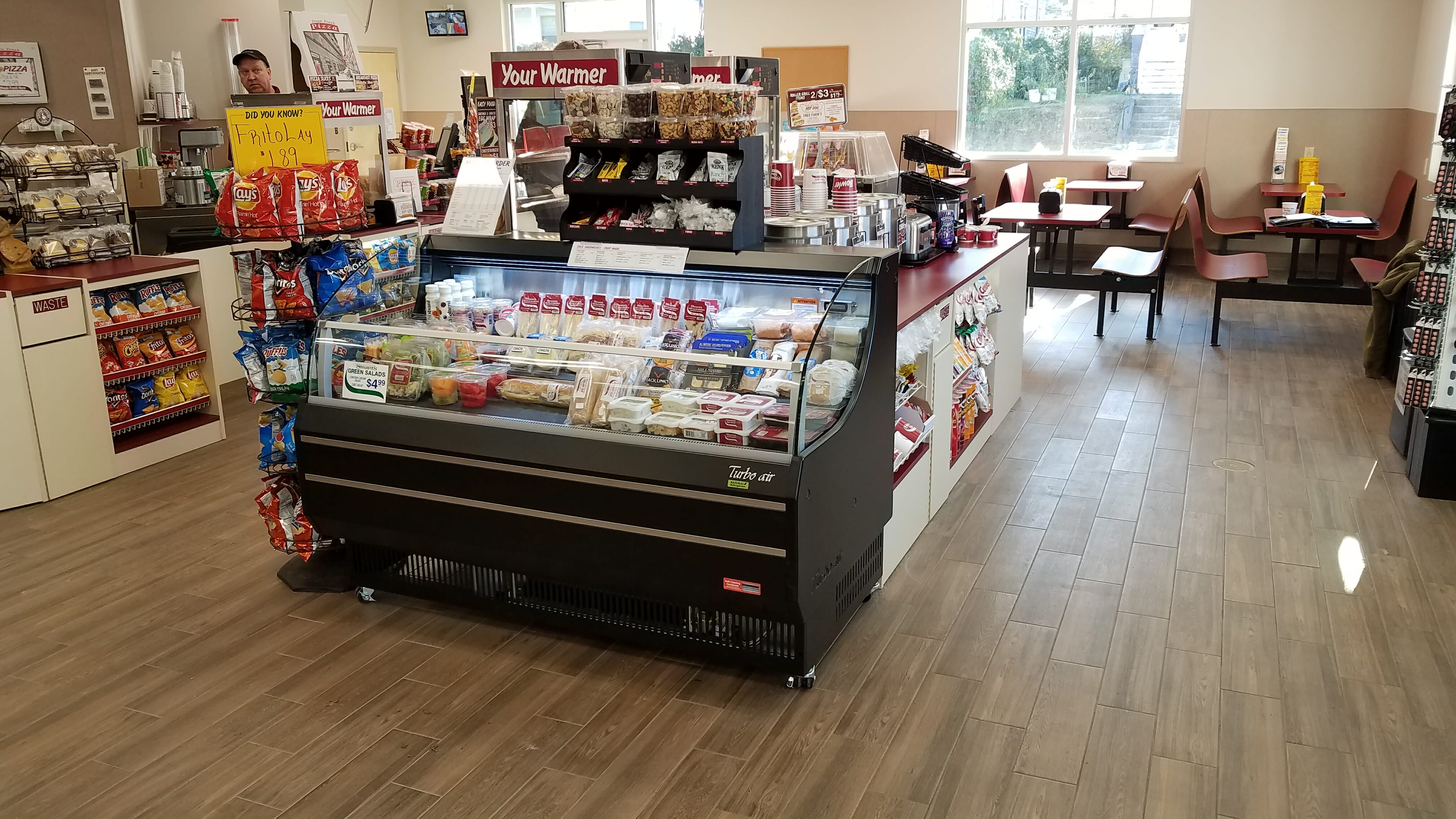 food to go section of store