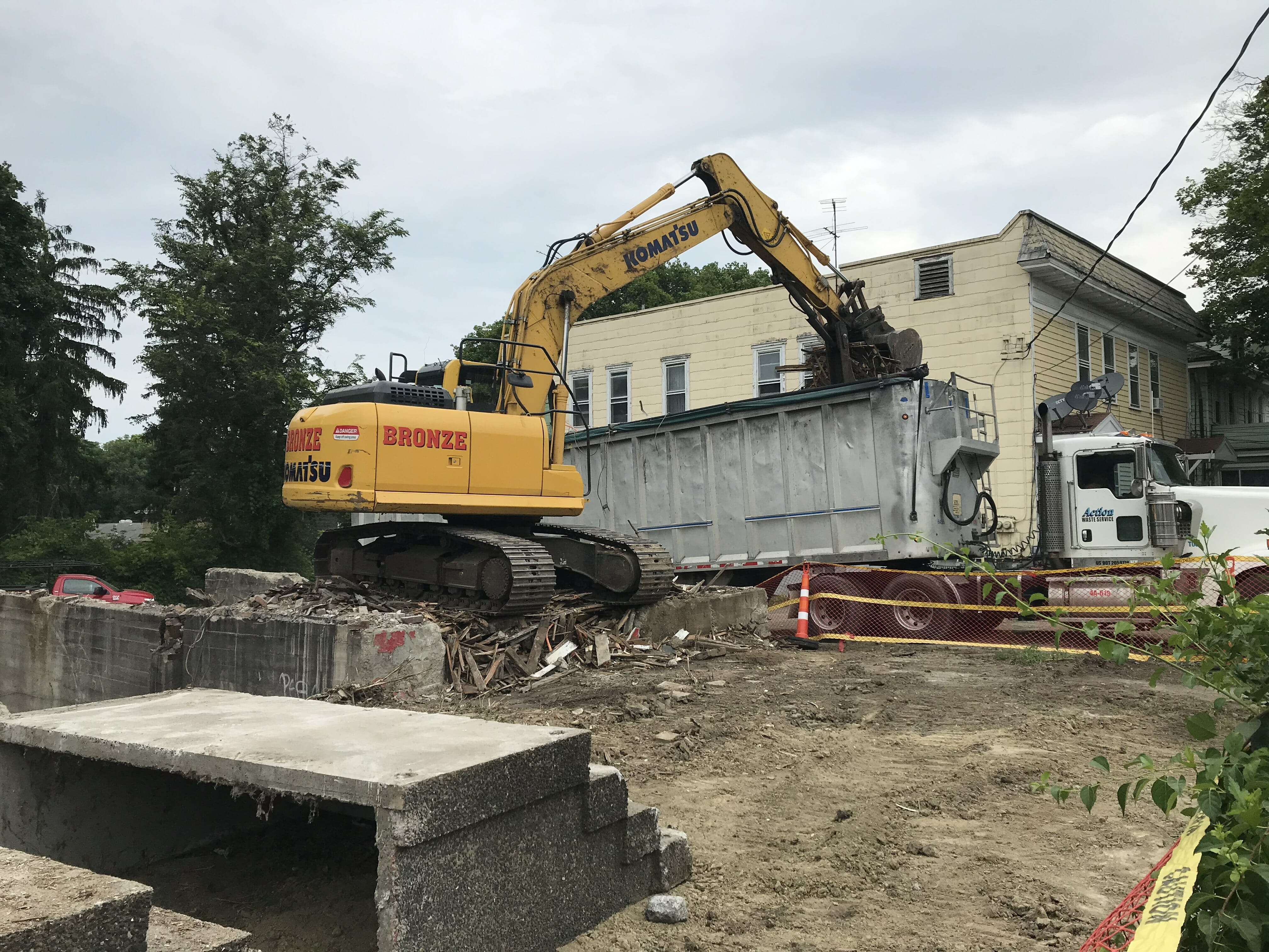 construction and tear down