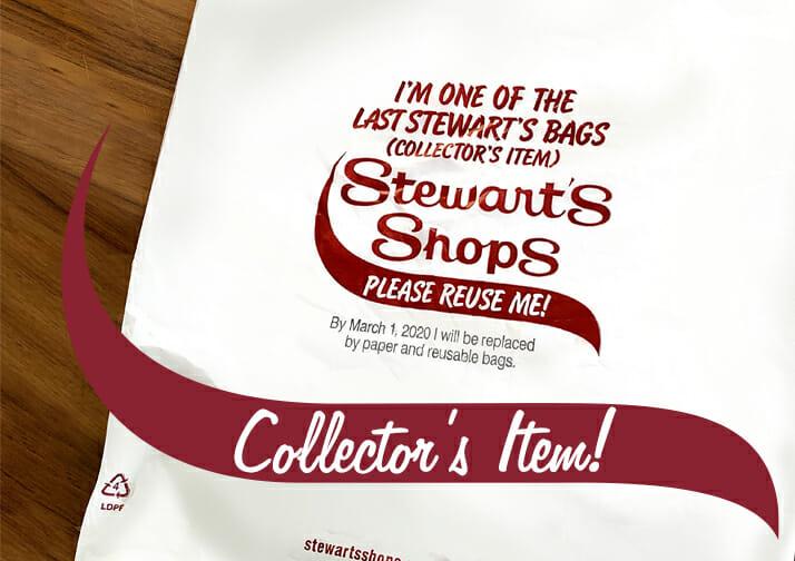 Stewart's Shops Plastic Bag