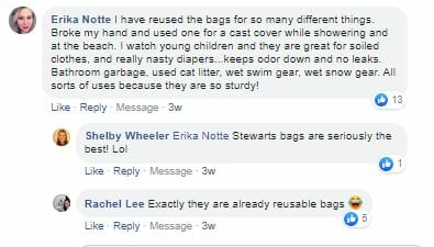CST talks about all the plastic bag uses