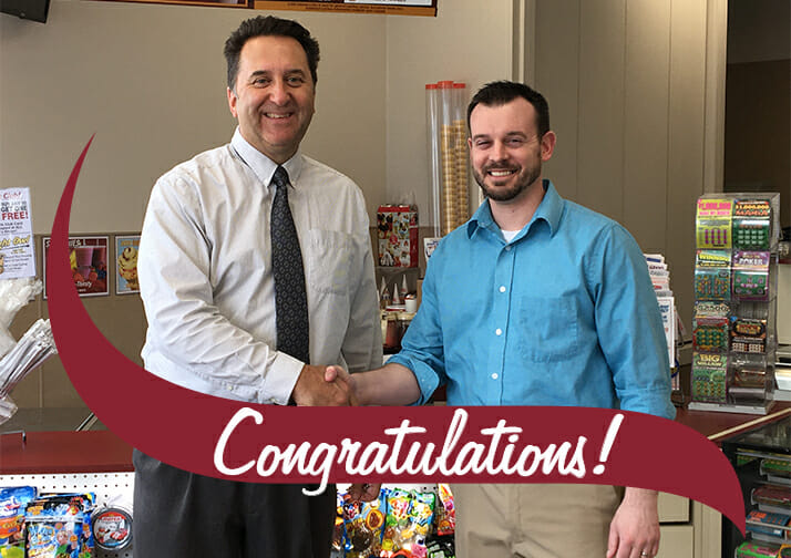 Rick Buck, District Manager of the Quarter
