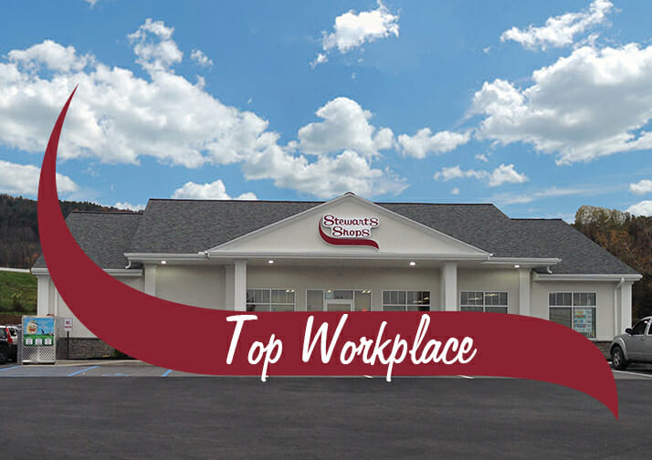Stewart's Shops is a 2020 Top Workplace