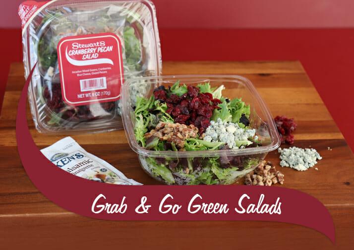 Stewarts Cranberry Pecan Salad Grab and Go Salads