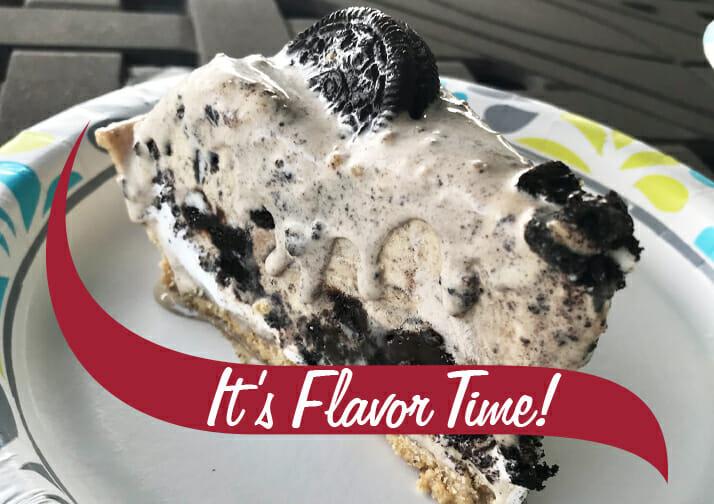 it's flavor time pie