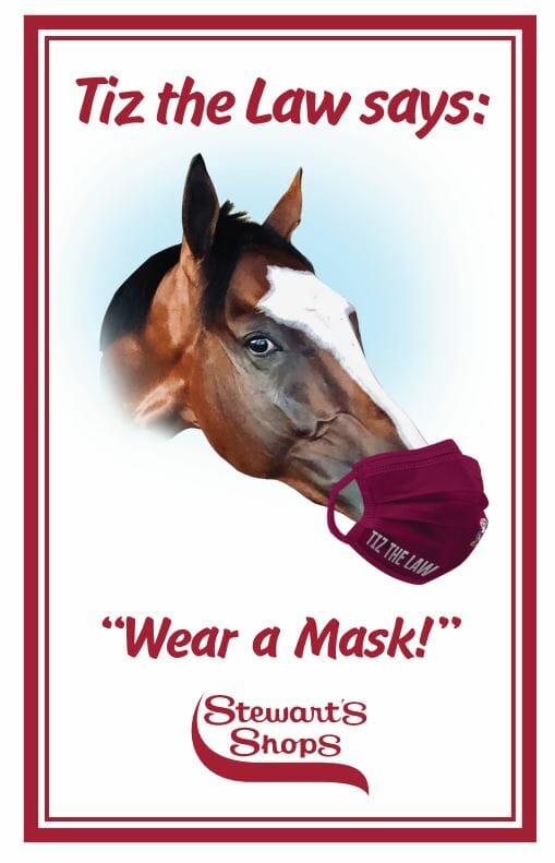 wear a mask sign