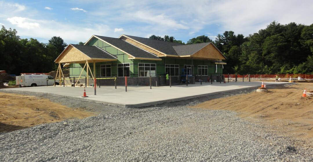 new karner shop construction