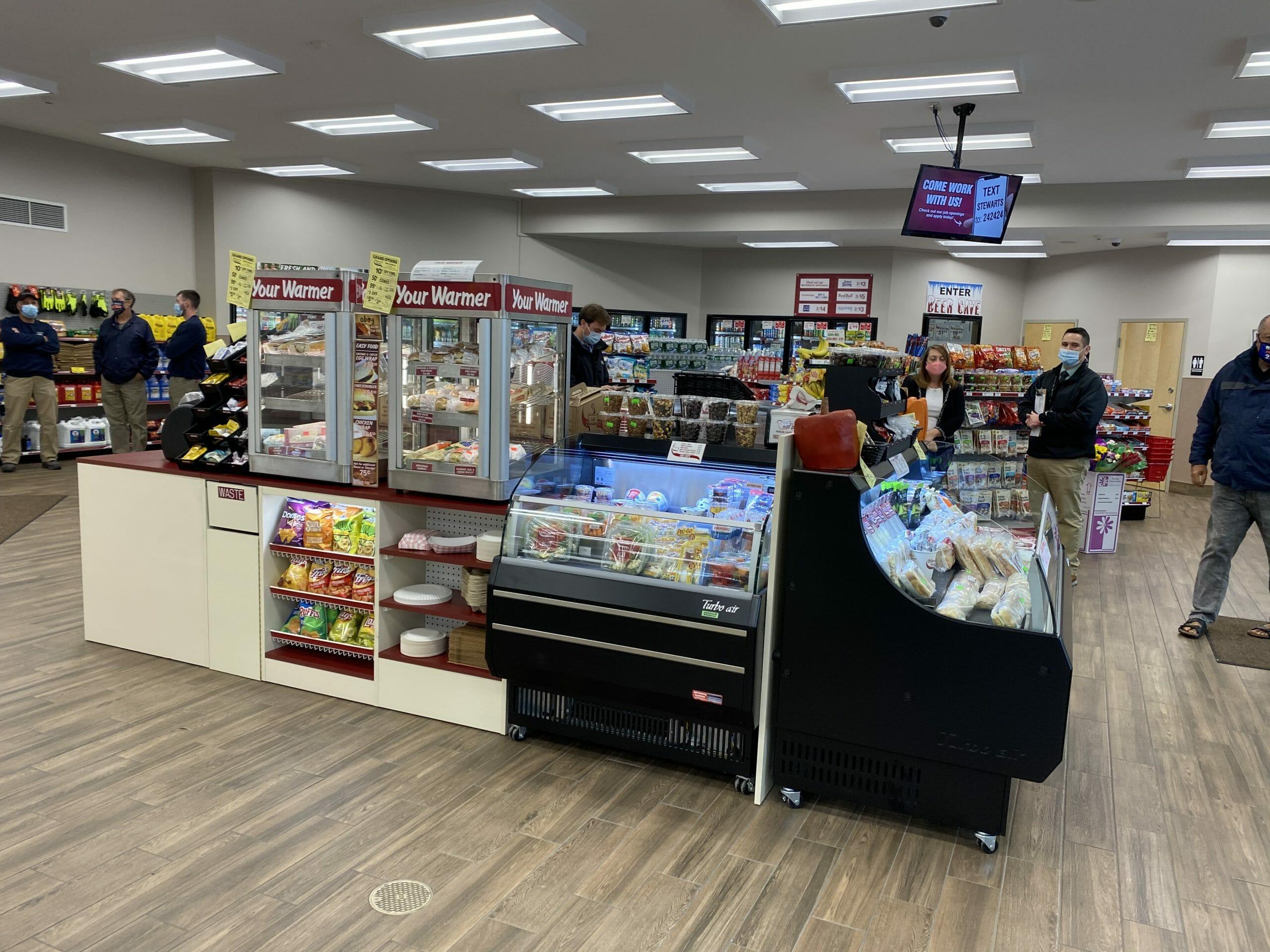new karner food stations