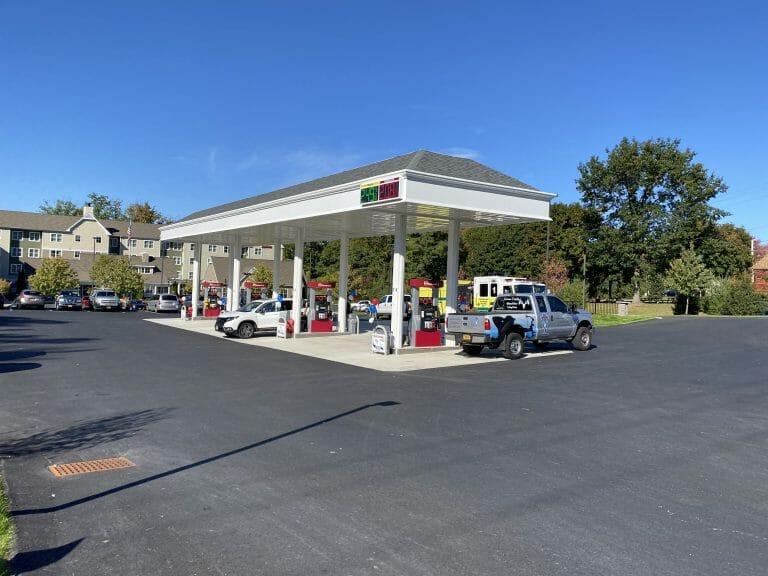 gas pumps at clifton park shop