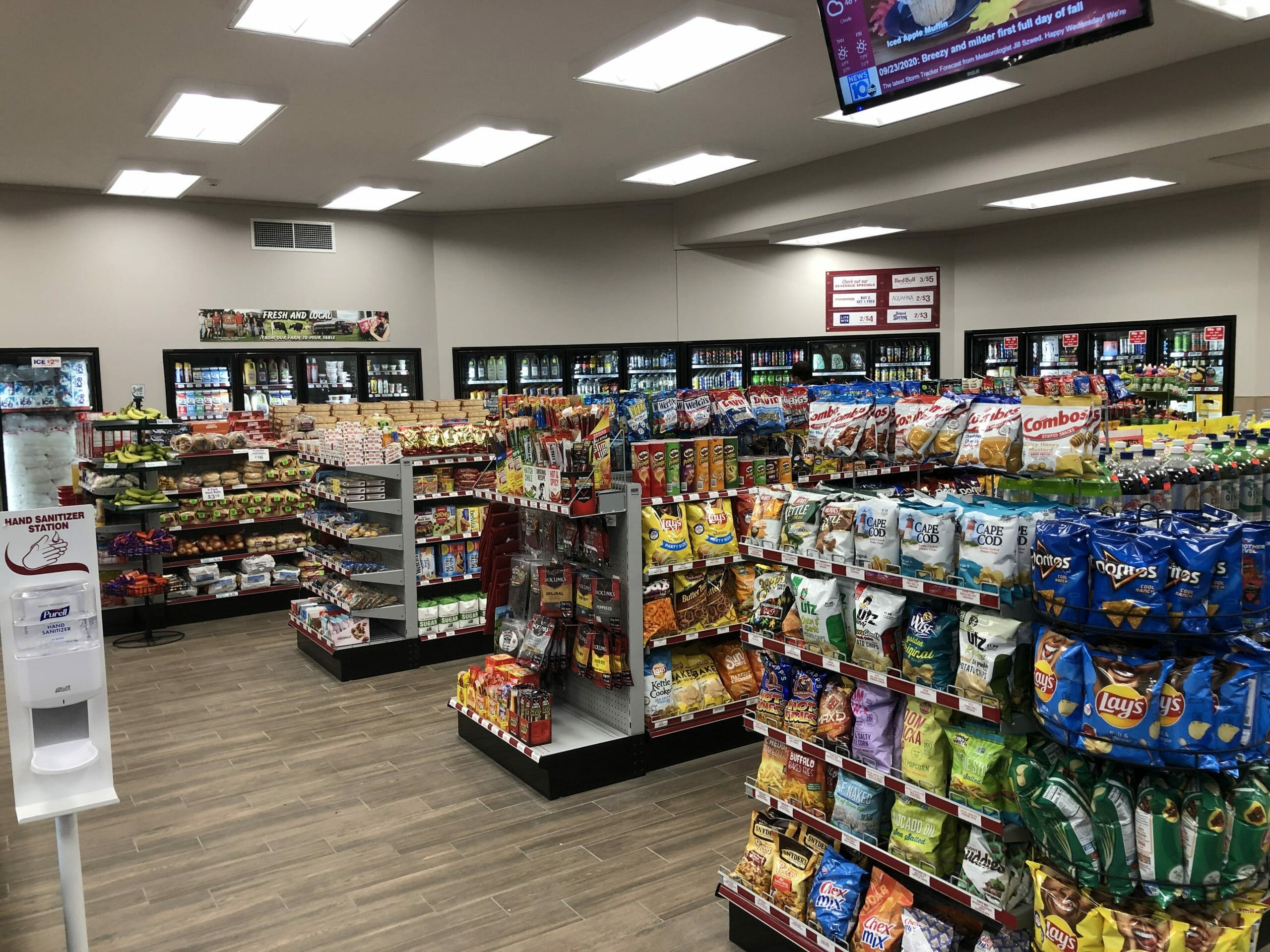 snack isles in store