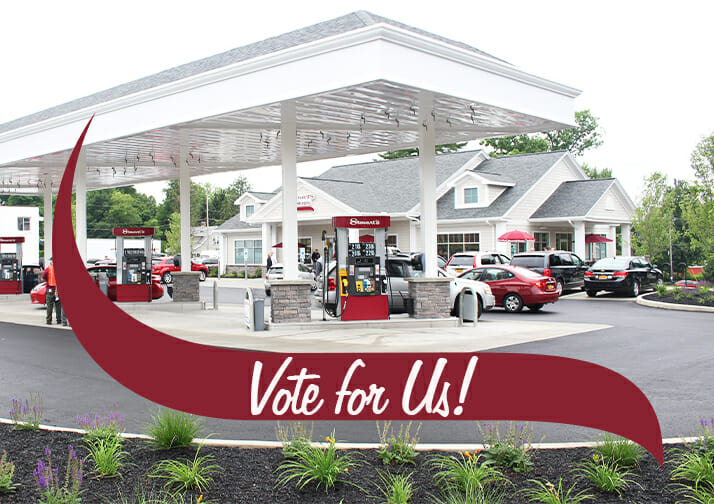 CNY Readers Choice Call for Votes for Best Convenience Store and Gas Station
