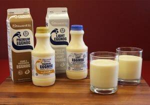 eggnog refreshers and quarts
