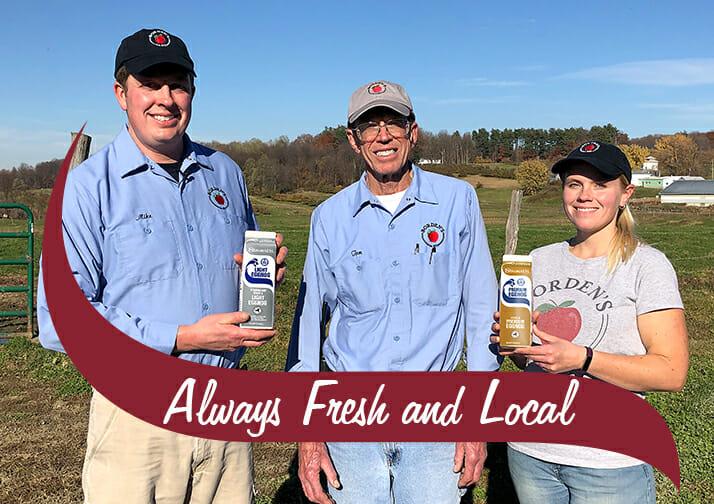 Three Stewarts producers Always fresh and local
