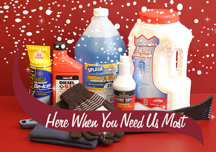 here when you need us most winter essentials