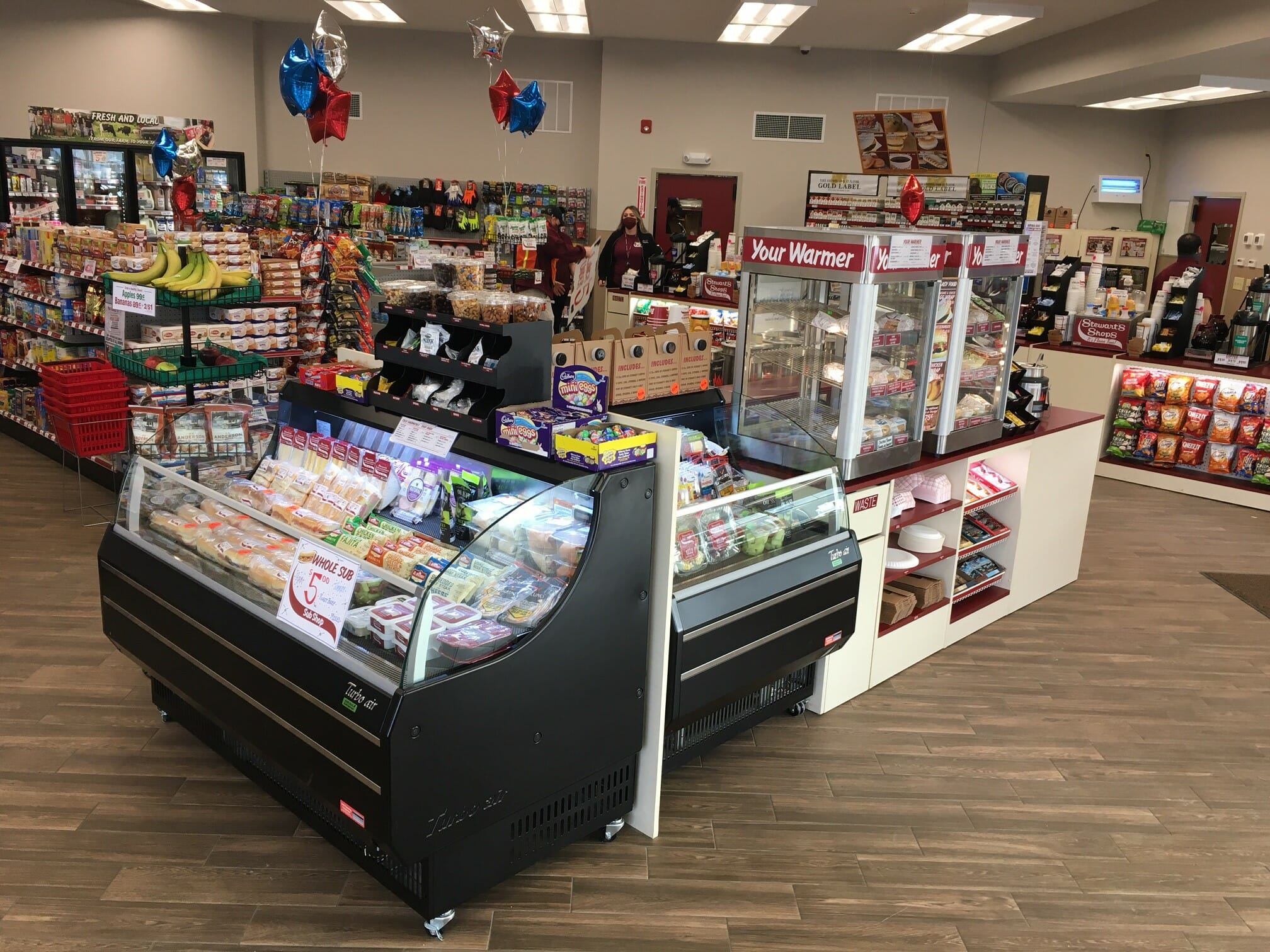 Shop 154 open cooler