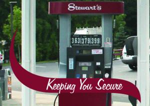 Stewarts gas pump