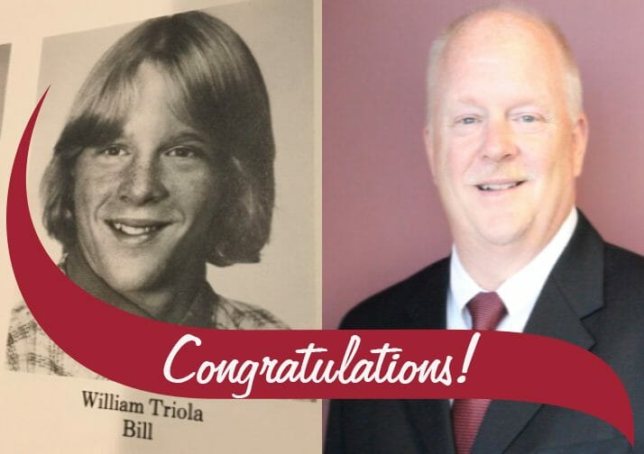 Congratulations to Vice President Bill Triola on his retirement!