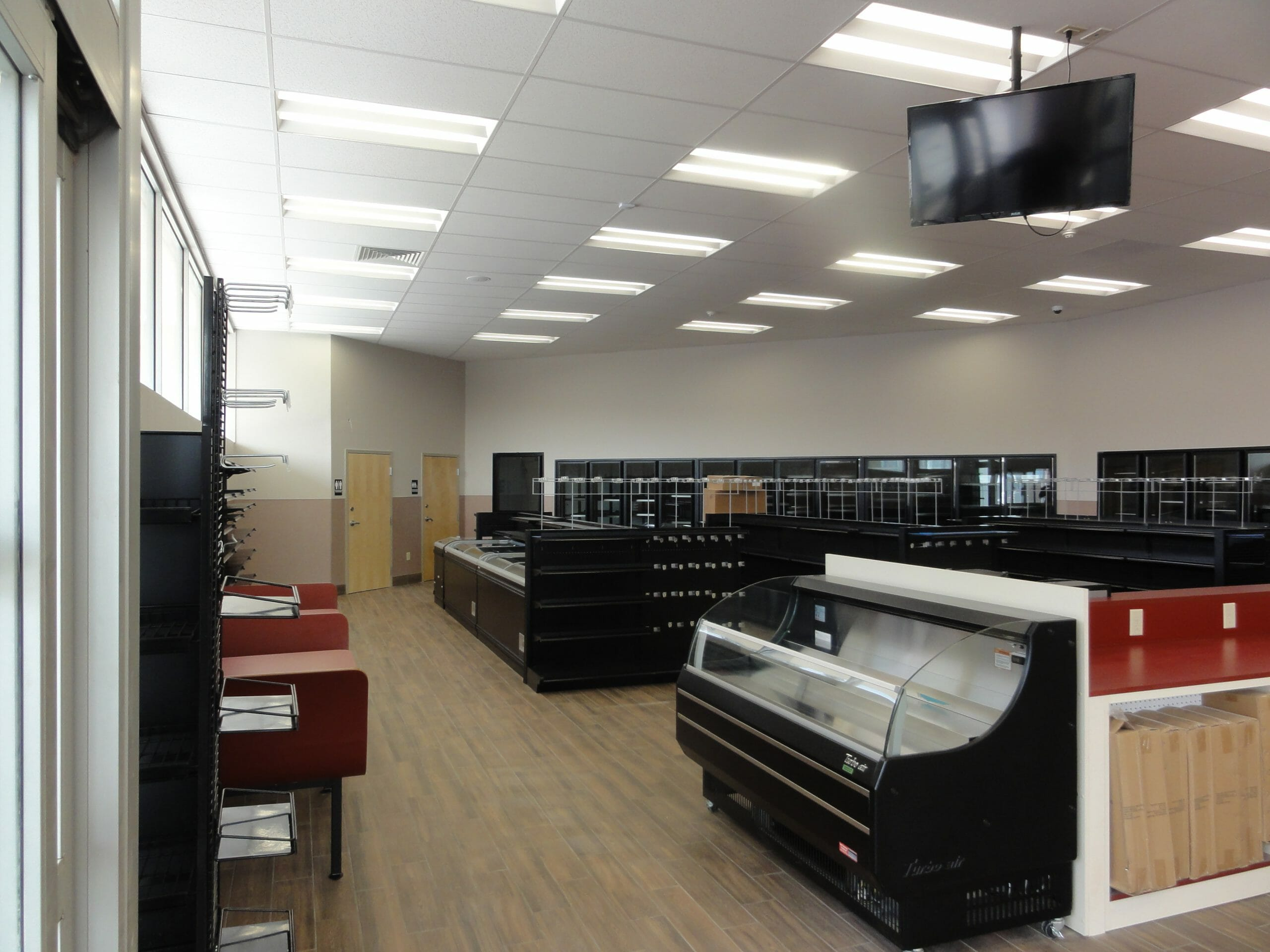 coolers and open shop