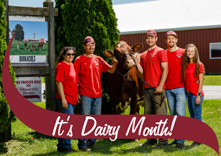 It's Diary Month! Durkee Dairy Farm