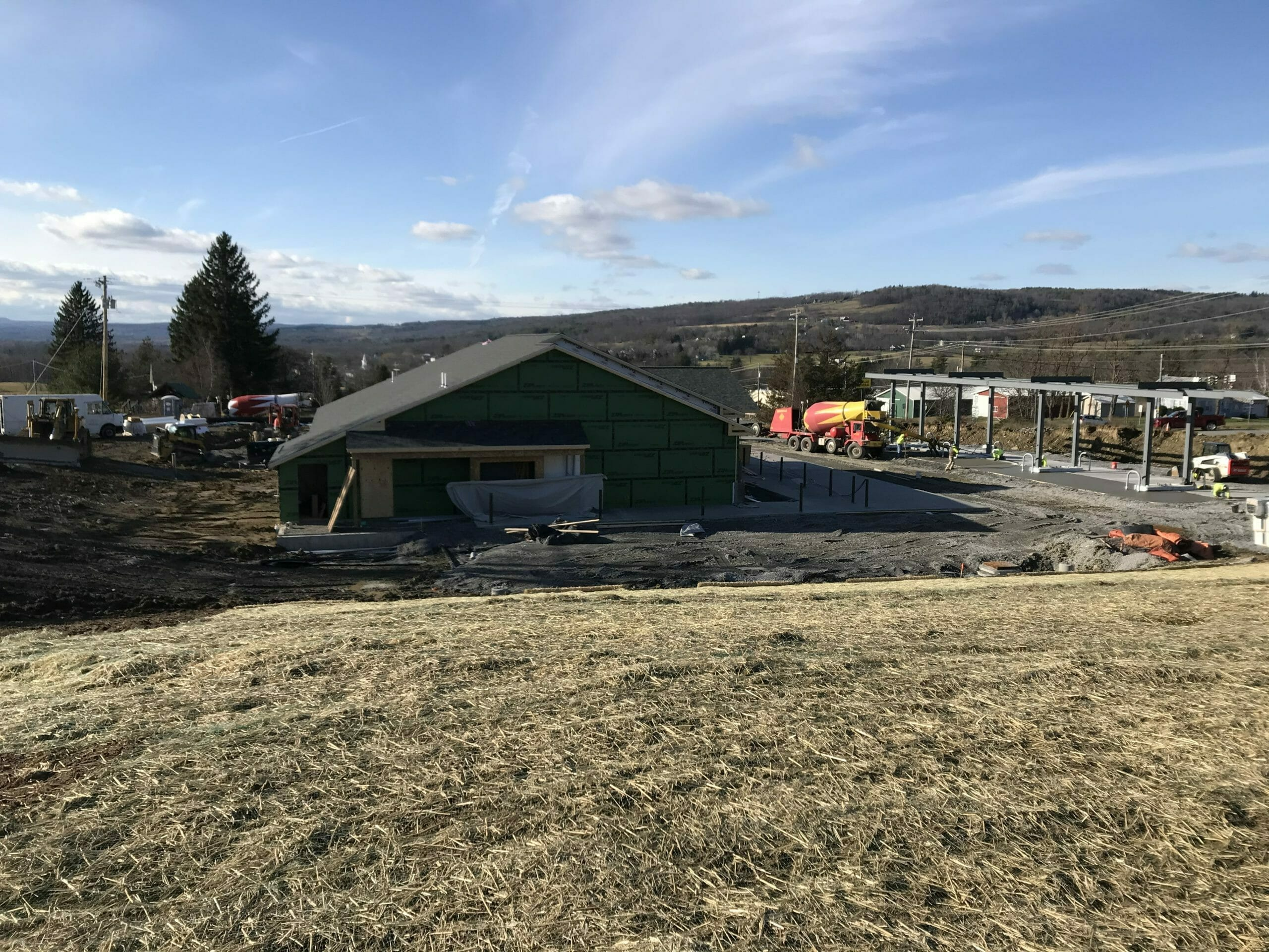 Town of Esperance stewarts shops construction progress photos