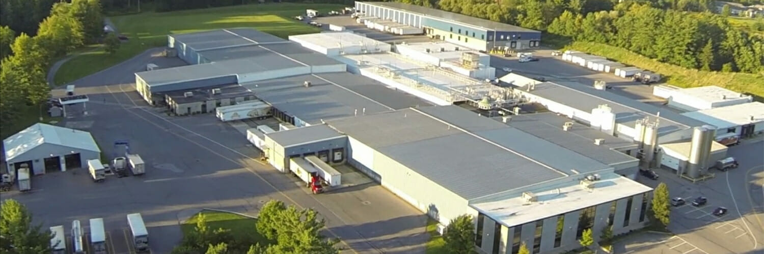 Aerial View of the Plant