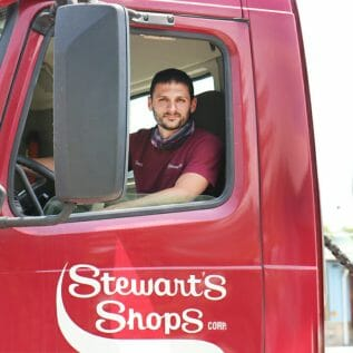 Stewart's Delivery Driver
