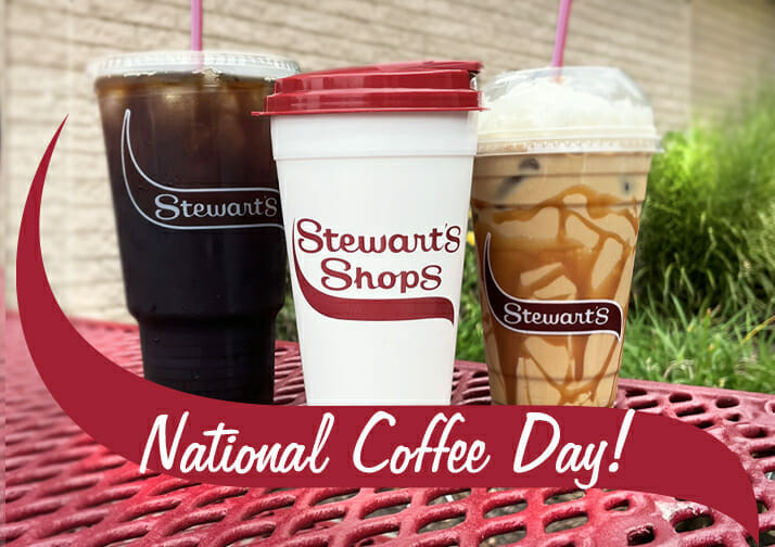 National Coffee Day at Stewarts Shops