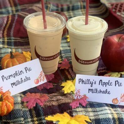 Fall Milkshakes